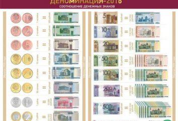 Nowe pieniądze na Białorusi (zdjęcie)
