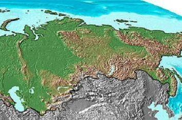 Die geographische Lage von Russland in Bezug auf Politik und Wirtschaft