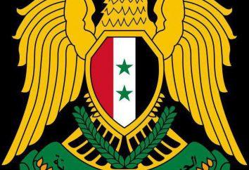 Wappen Syriens: Wert Beschreibung und Empfehlungen für die Studie