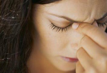 Numb Kopf: Ursachen und Merkmale der Behandlung