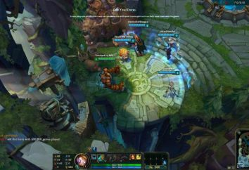 "Das Spiel ""League of Legends"". Hyde: Blitskrank"