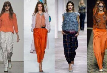 pantalon de mode printemps-été 2013