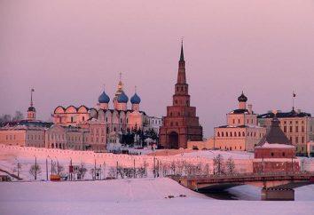 Atrakcje w Kazaniu. Gdzie jechać w zimie w Kazaniu