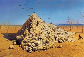 """Vereshchagin obraz """"Apoteoza wojny"""" i jej smutne unhistorical"""