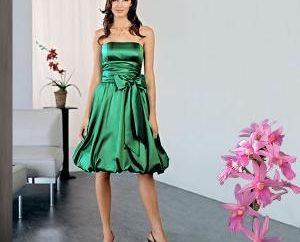 Designer selbst: welche Art von Frauen gibt es ein Smaragd Kleid?