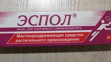 """""""Espoli"""": instruções de utilização. """"Espoli"""": comentários, preço"""