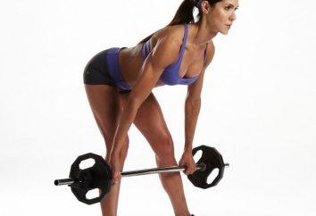 Ejercicios para la parte posterior de los muslos en el gimnasio