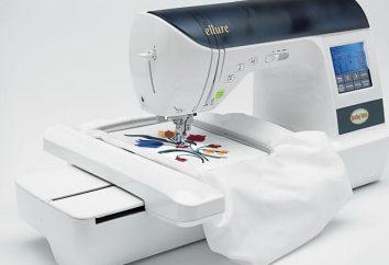 critérios e instruções para a operação de seleção: máquina de bordar