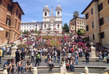 Schody Hiszpańskie w Rzymie: historia, zdjęcia