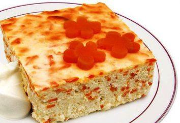 Casserole de carottes et de pommes: les options de cuisson