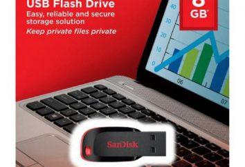 Napęd USB SanDisk Cruzer Blade: specyfikacje, opinie