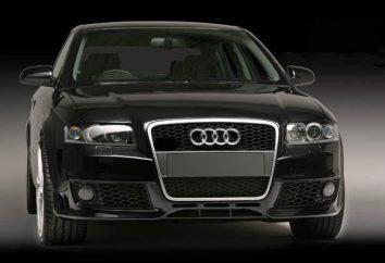 Vue d'ensemble de la voiture Audi A4 B6