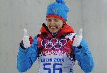 biathlete russa Olga Viluhina: biografia, realizações, fotos