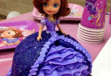 """""""Princess Sophia"""" – ein Kuchen für das Geburtstagskind. Die einfachsten Design-Ideen"""