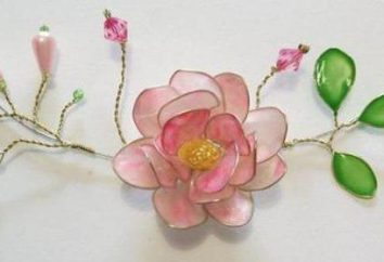 Comment faire une fleur sur le fil et le vernis à ongles