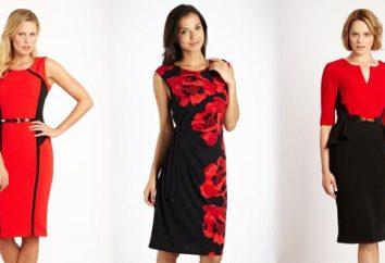Welche Farben sind mit rot kombiniert: Kleid richtig!