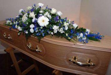 Qu'est-ce qui se passe dans le cercueil avec le corps? faits intéressants