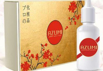 """Środki w celu przywrócenia włosów Azumi: recenzje. Serum """"Azumi"""""""