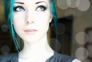 cabelo azul-turquesa – uma escolha de ousado e jovem!