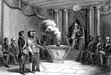 O movimento público sob Alexander 1. As principais atividades