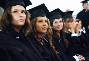 Faculdades de Orenburg: uma breve descrição