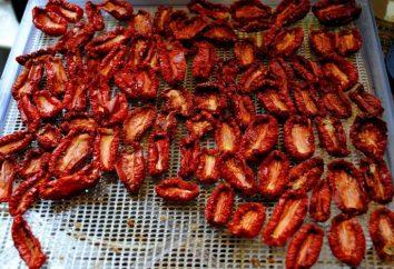 Come prepararsi per pomodori secchi invernali in forno e forno a microonde
