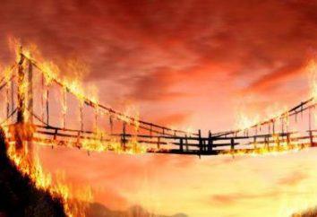 """""""Burning Bridges"""": wartość frazeologicznych przykładach interpretacja"""
