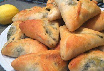 Empanadas con espinaca: las reglas básicas y métodos para la preparación del producto