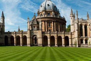 Oxford University: warunki przyjęcia, wydziałów, czesne, opinie i zdjęcia