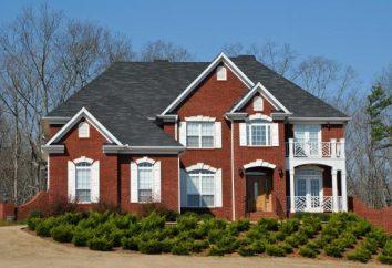 Tipos de telhados no projeto (foto). Tipos de telhado de duas águas. Tipos de telhados das casas privadas com sótão