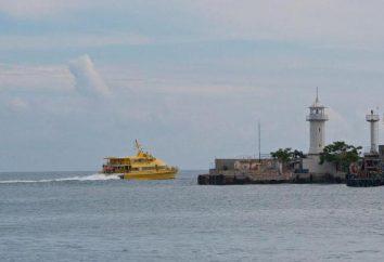 Catamarã Anapa – Yalta: custo, cronograma