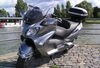 Suzuki Skywave 400: dane techniczne, opinie, zdjęcia