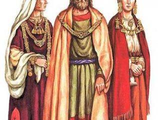 Rusia antigua: Ropa. Prendas de vestir en Rusia: mujeres, hombres, niños