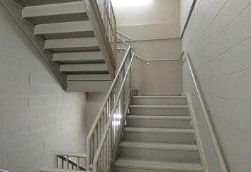 Scala di scale: descrizione, descrizione, produzione, installazione e revisioni
