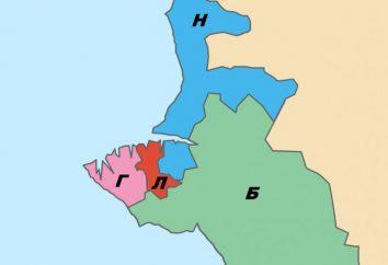 Die meisten Bereiche von Sewastopol
