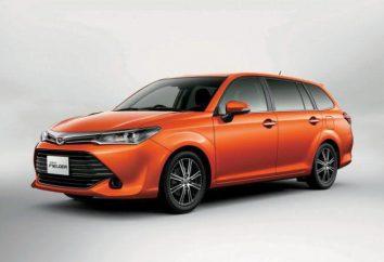 Toyota Fielder: especificaciones técnicas