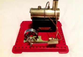 Moteur à vapeur avec leurs mains: la description détaillée, des dessins