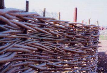 Budujemy ogrodzenia tkane gałązki i gałęzie