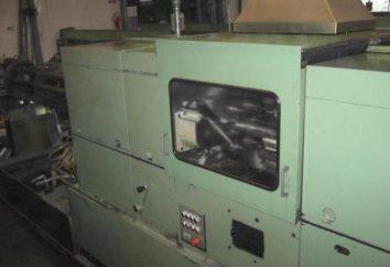 torno automático y sus características. Torno multihusillo torneado longitudinal automática CNC. Producción y transformación de piezas en tornos automáticos