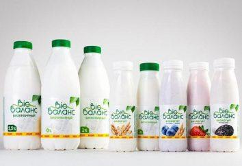 """""""Bio Balance"""" (jogurty) użyteczne składu, rodzaju i wskaźniki"""
