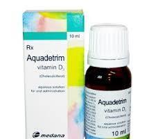 """Akvadetrim"": istruzioni e feedback. Vitamine ""Akvadetrim"": analogico russo"