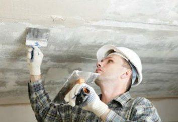 Comment plafonner les plafonds en plaques de plâtre de leurs propres mains?