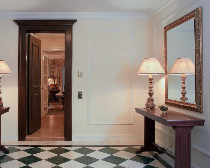 Piastrelle per pavimenti nel corridoio: idee progettuali