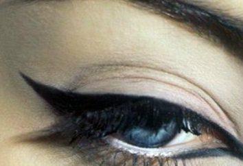 Jak narysować idealny strzałki na oczach?