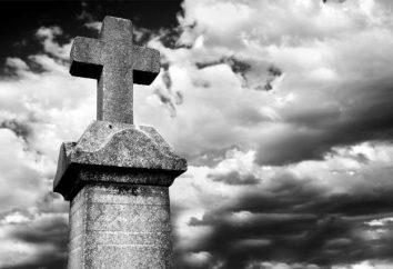 Segni nel cimitero. superstizioni popolari