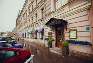 """""""Port Arthur"""", um restaurante em São Petersburgo no Zvenigorod: comentários, descrições, menus e comentários"""