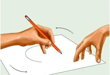 Como desenhar um círculo sem uma bússola