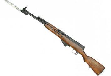 spécifications SCS (de) carbine. SKS Carabine: photo