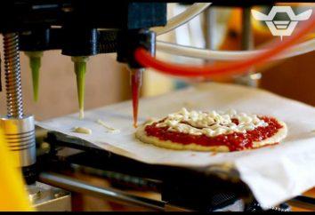 Voulez-vous essayer la pizza, imprimé le imprimante 3D?