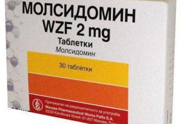 Médicaments « molsidomine »: mode d'emploi, prix, analogues